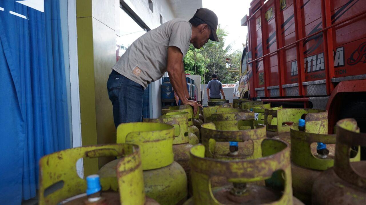 Harga Gas 3 Kg di Lampung Selatan Mulai Normal