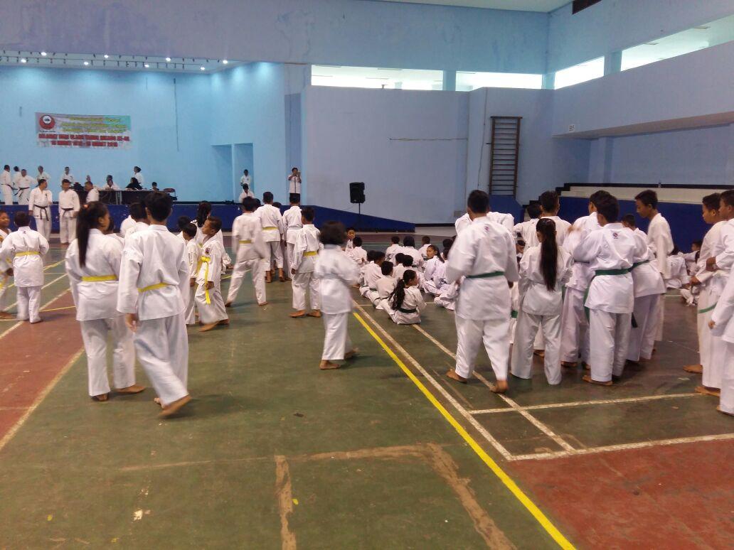 Pengprov Inkado Lampung Gelar Ujian Kenaikan Tingkat KYU