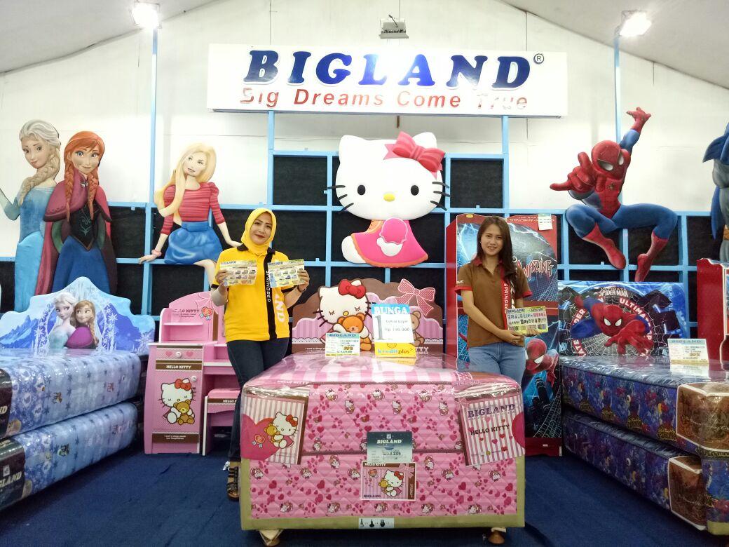Bigland Beri Promosi  Menarik di Lampung Fair