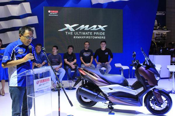 Dua Hari Order Online, 1.500 Yamaha XMAX Ludes