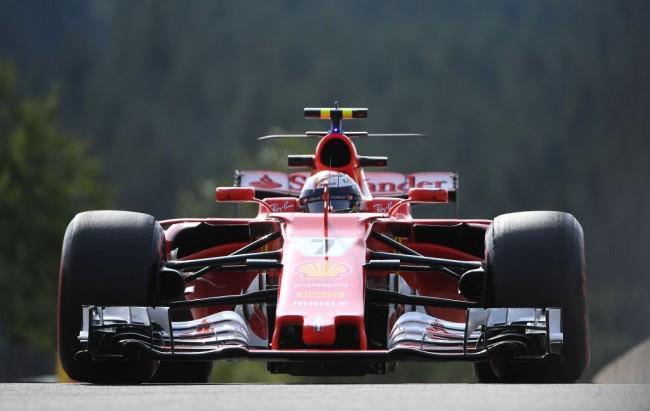 Raikkonen Tercepat di Latihan Bebas Pertama GP Belgia