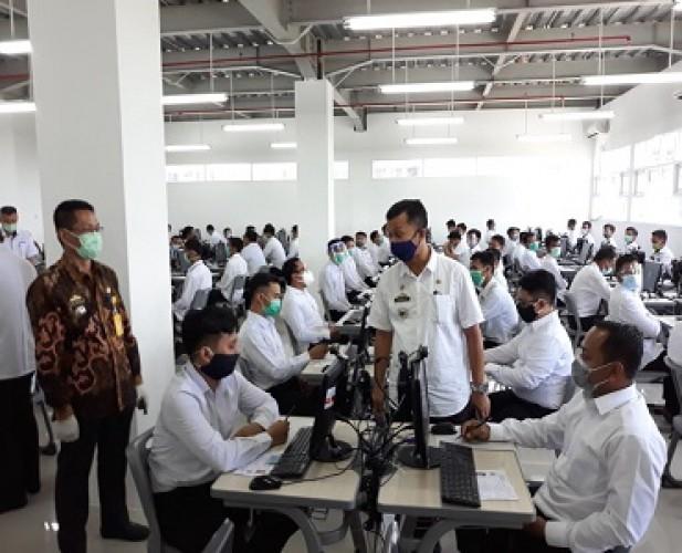 9 Orang Gugur SKB CPNS Pemprov Lampung di Hari Pertama