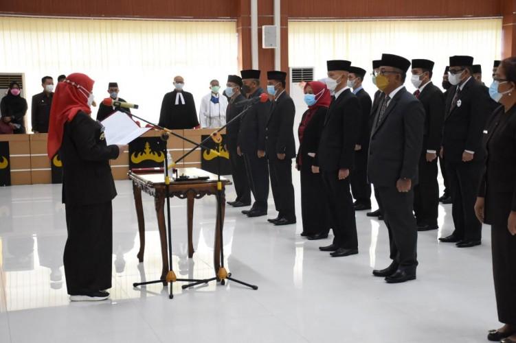 9 Pejabat Eselon II Pemkot Bandar Lampung Dirombak