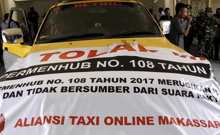 Diduga Disusupi Provokator, Ratusan Driver Online Batal Demo