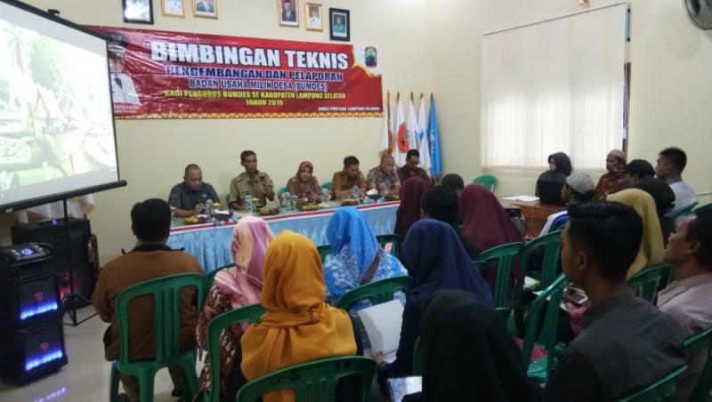 97 BUMDes di Lamsel Berkontribusi untuk Desa