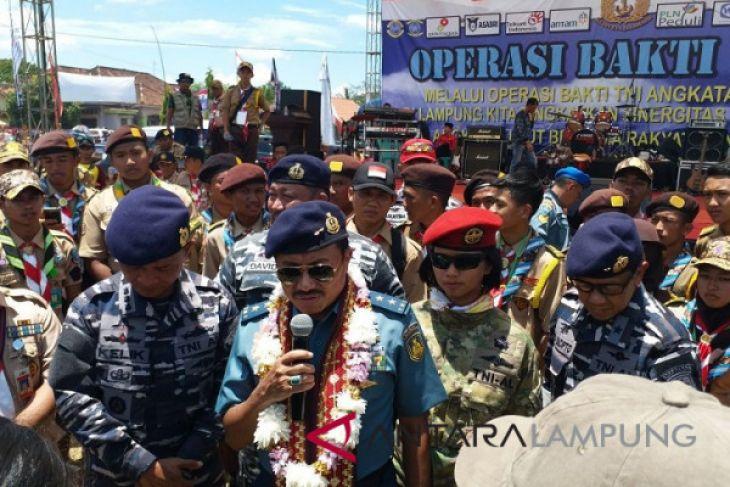 Lampung akan Miliki Pangkalan Utama TNI AL Tahun 2024
