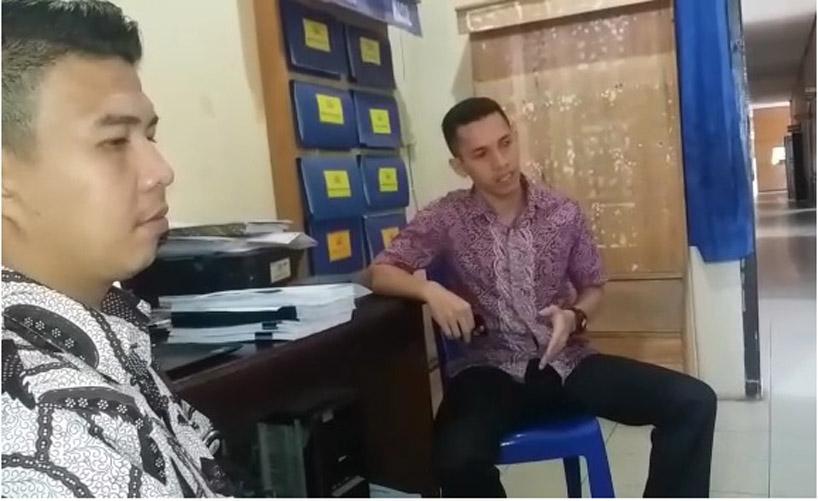 11 Mahasiswa PTIK Sambangi Lampung Utara