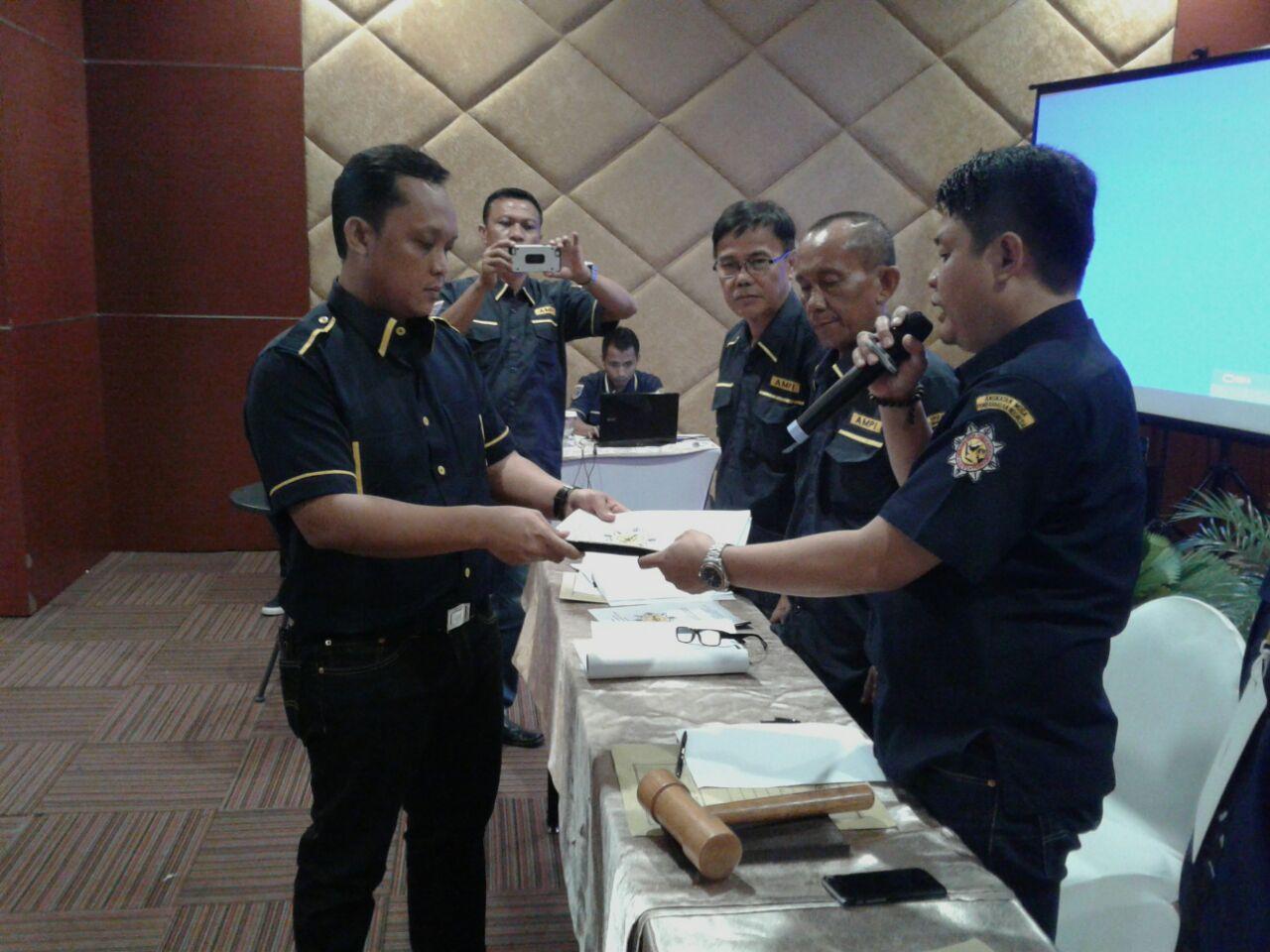 Ardito Pastikan AMPI Turut Serta Membangun Lampung