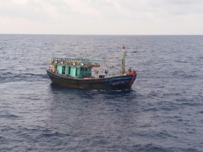 Lagi, KKP Amankan Dua Kapal Asing Ilegal