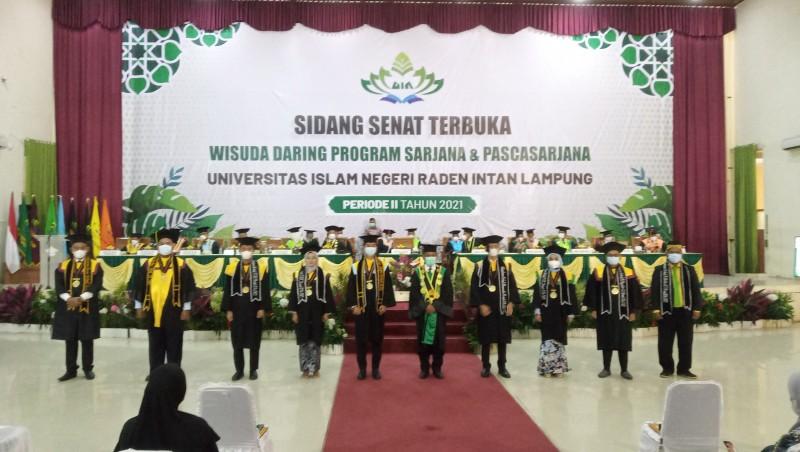 994 Wisudawan UIN Lampung Diminta Berinovasi di Tengah Pandemi