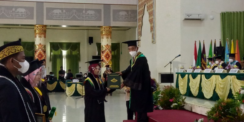 999 Wisudawan UIN Raden Intan Diharapkan Bisa Membangun Negeri
