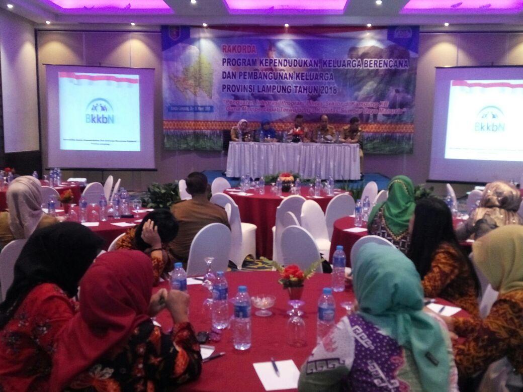 BKKBN Lampung Gelar Rakorda