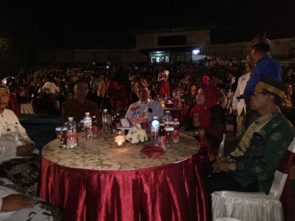 Peserta Festival Keraton Nusantara XI Dijamu Makan Malam