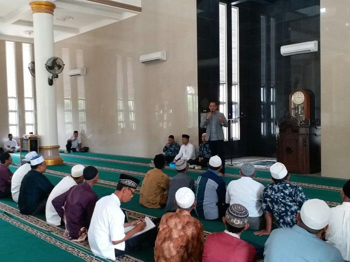 PT Saudi Patria Wisata Adakan Manasik Umrah di Masjid Taqwa Metro