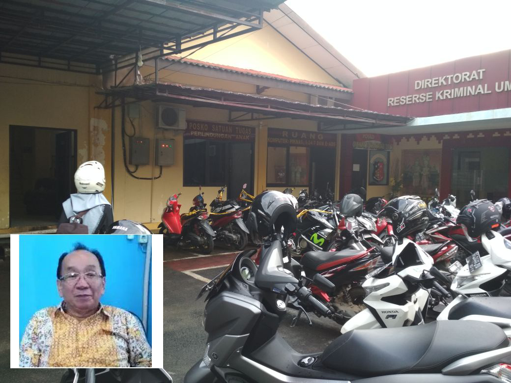 Alay si Bos Pasar Ditangkap Polres Tuba di Tangsel