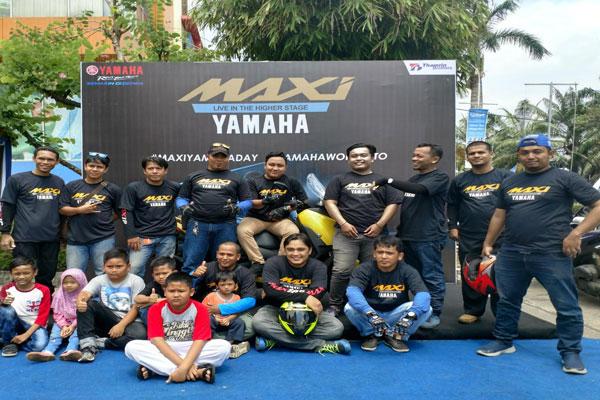 Yamaha Gelar #MAXIYAMAHADAY di Palembang