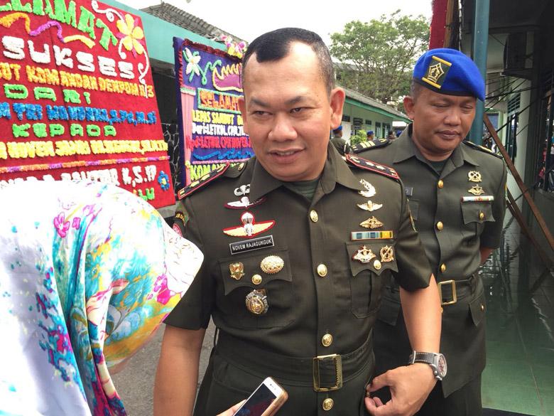 Pisah Sambut Dandenpom II/3 Lampung, Pejabat Baru: Istri Saya Batman