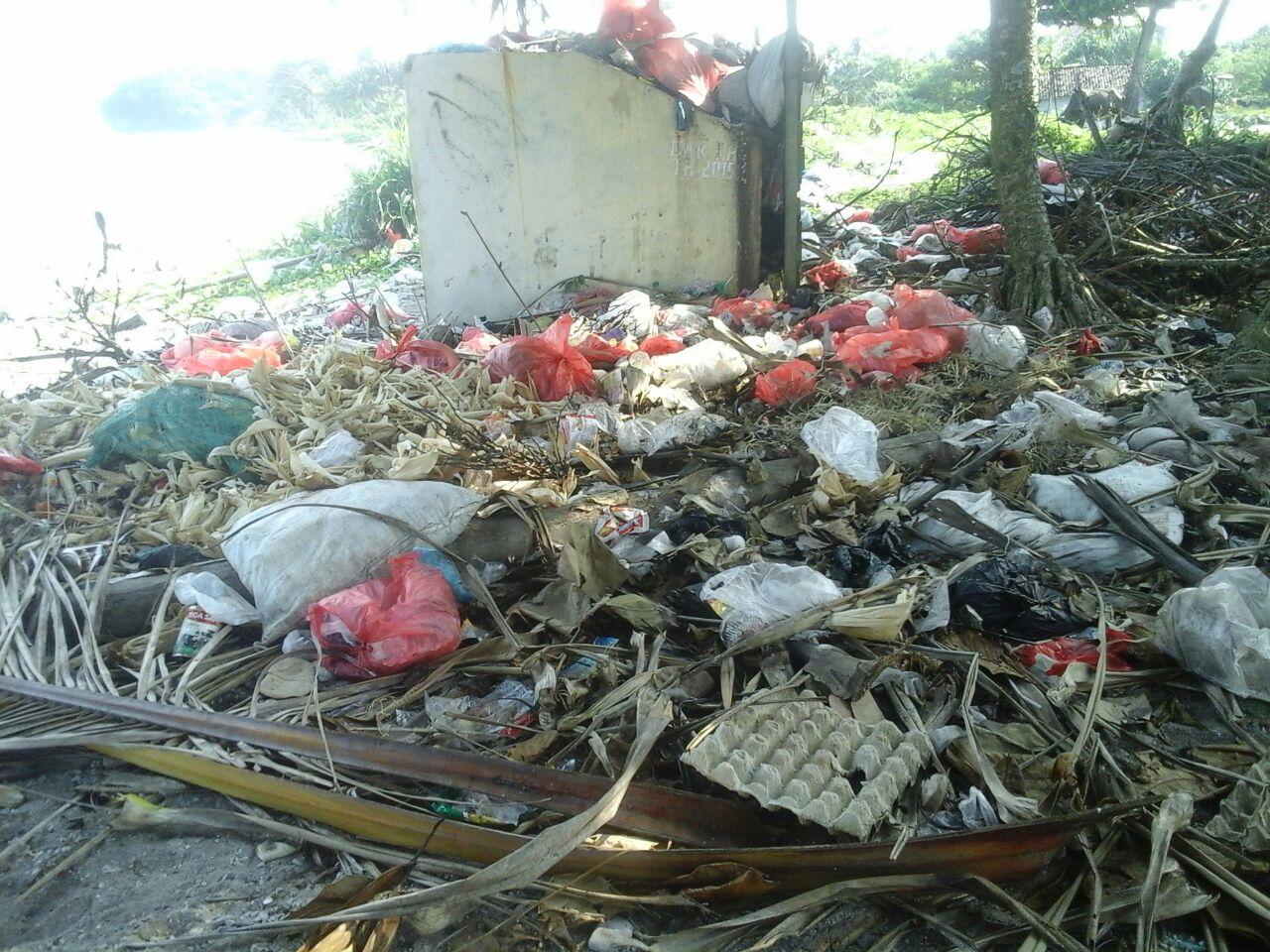 Warga Asing Pemilik Penginapan di Pesisir Barat Keluhkan Sampah yang Menumpuk