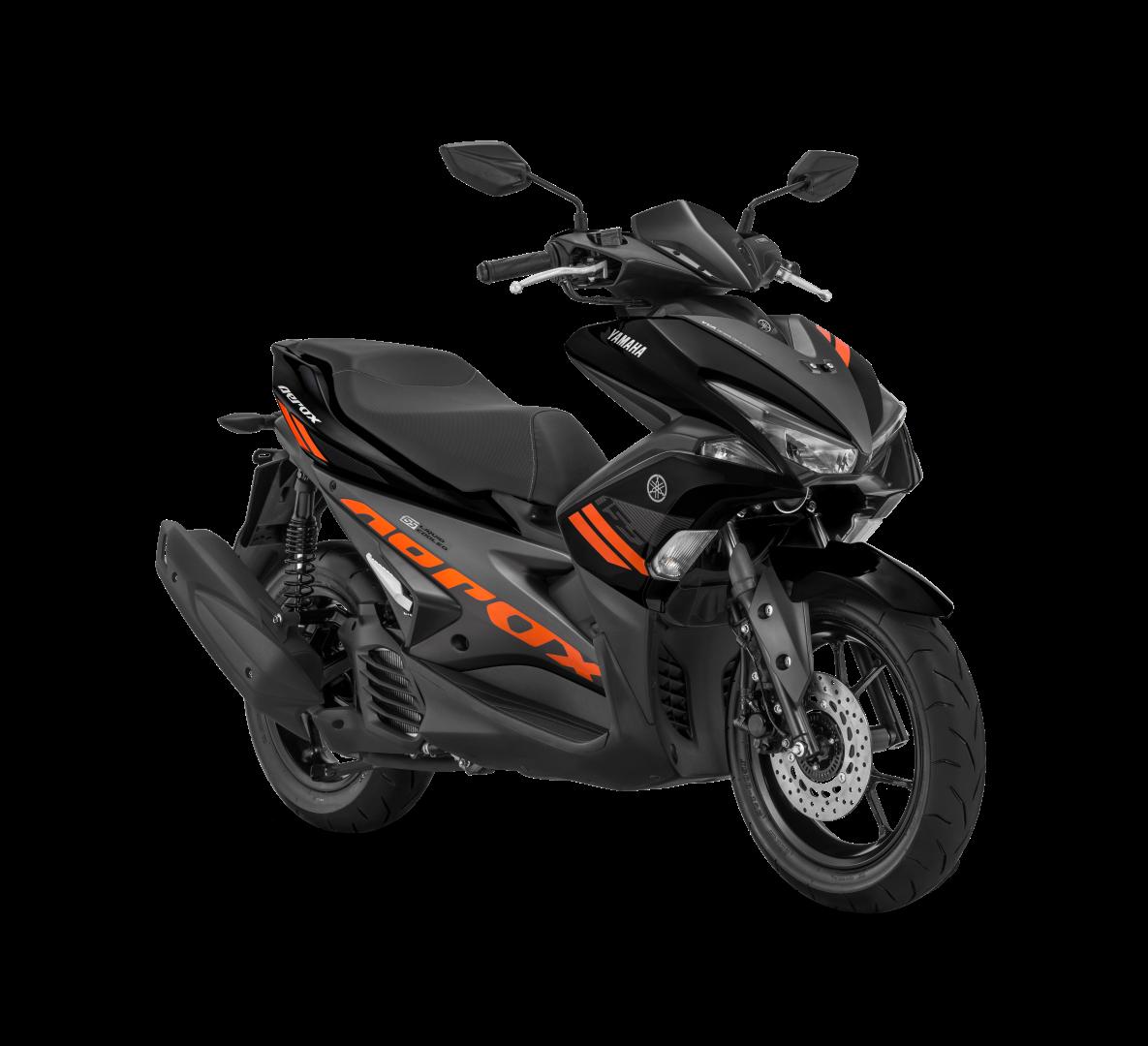 Yamaha Rilis Tampilan Baru Dua Varian Aerox 155VVA