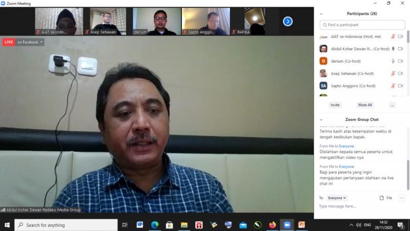 Abdul Kohar: Media Berperan Memberi Peta Jalan untuk Masyarakat