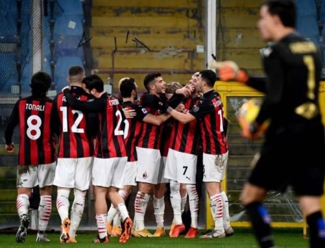 AC Milan Perkasa di Puncak Klasemen