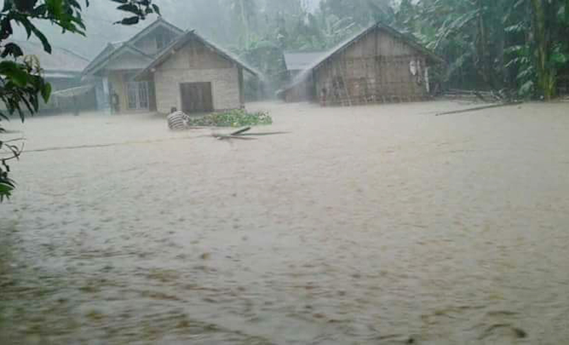 Kelumbayan Diterjang Banjir dan Longsor