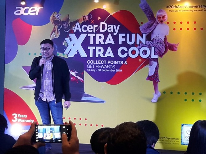 Acer Day XtraFun dan eXtra Cool di HUT ke-20
