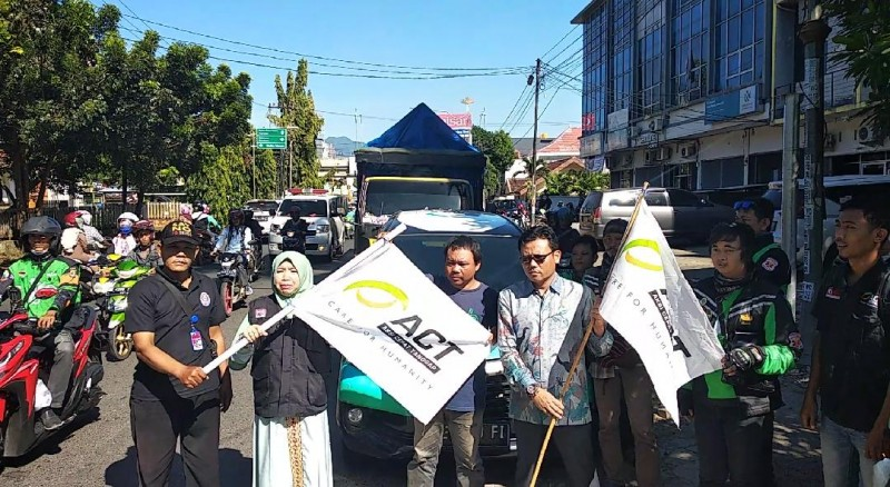 ACT Kirim 5 Truk Bantuan Logistik Banjir Bengkulu