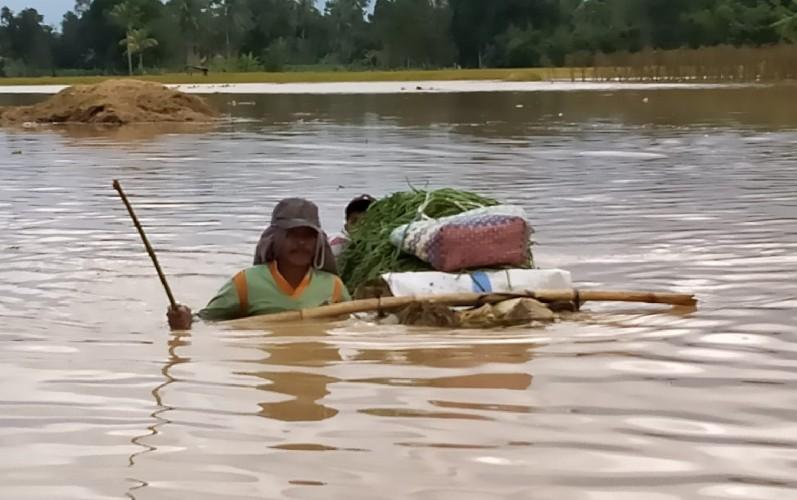 ACT Lampung Ajak Masyarakat Lampung Bantu Banjir OKU Timur