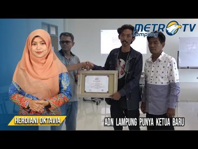ADN Lampung Lantik Ketua Baru