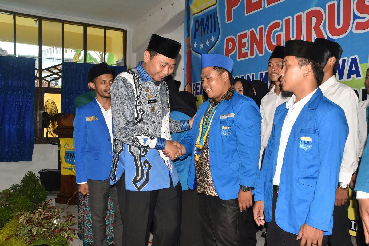 Pengurus PMII Lampung Utara Dikukuhkan