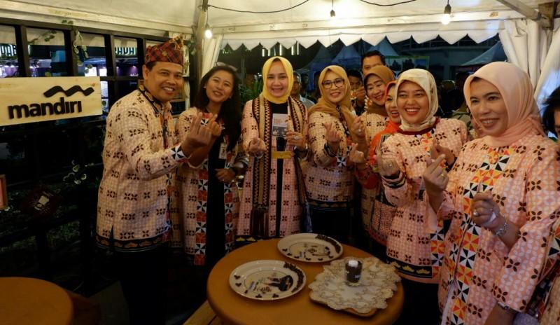 Agen Bank Mandiri dan LinkAja Hadir di Festival Kopi