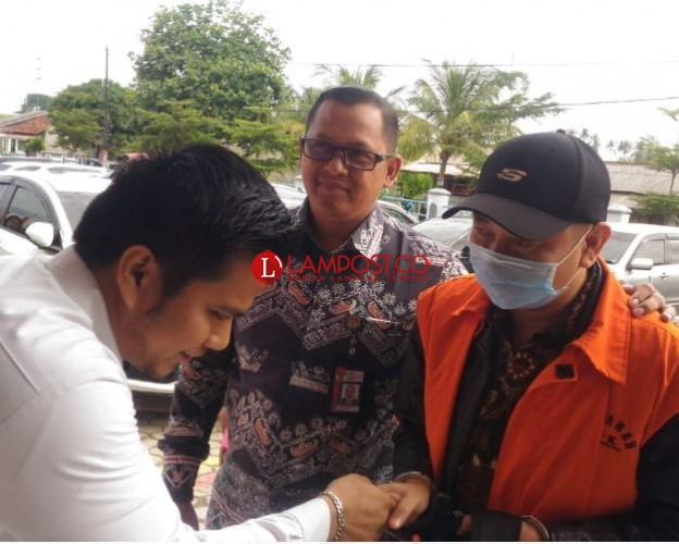 Agung Ilmu Mangkunegara Huni Rutan Bandar Lampung