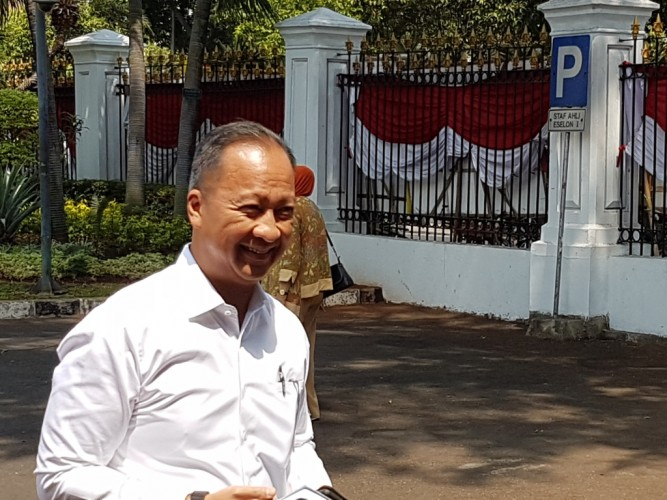 Agus Gumiwang Merapat ke Istana Kepresidenan