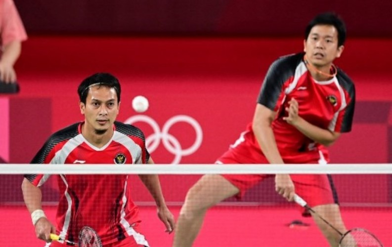 Ahsan/Hendra Minta Maaf Gagal Sumbang Medali