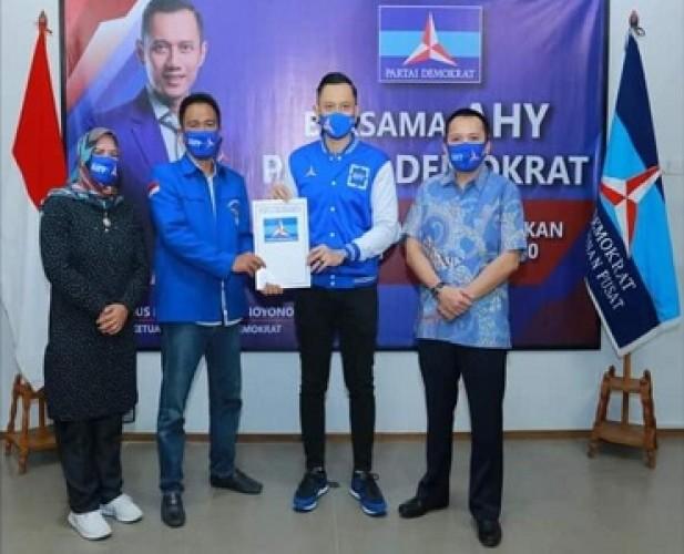 AHY Restui Aria Lukita-Erlina,Peta Politik di Pesisir Barat Berubah
