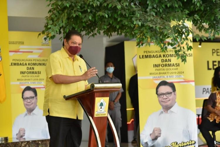 Airlangga Hartarto: LKI Partai Golkar Sinergi Komunikasi Pusat sampai Daerah