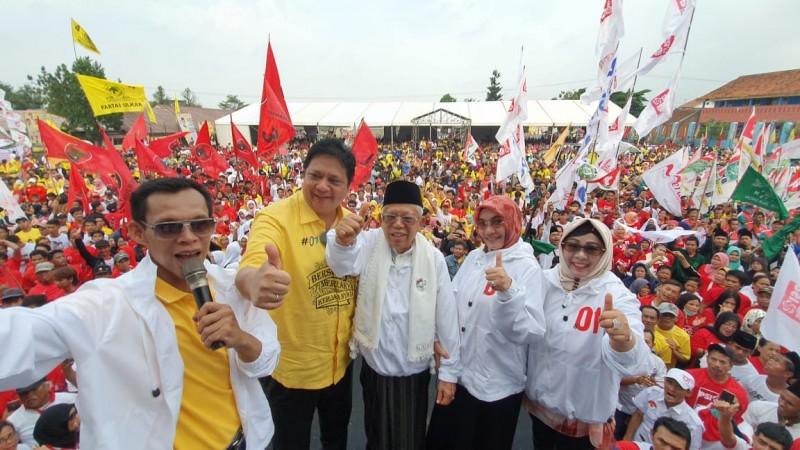 Airlangga Sebut Jokowi-Ma'ruf Pasangan Ulama dan Umara