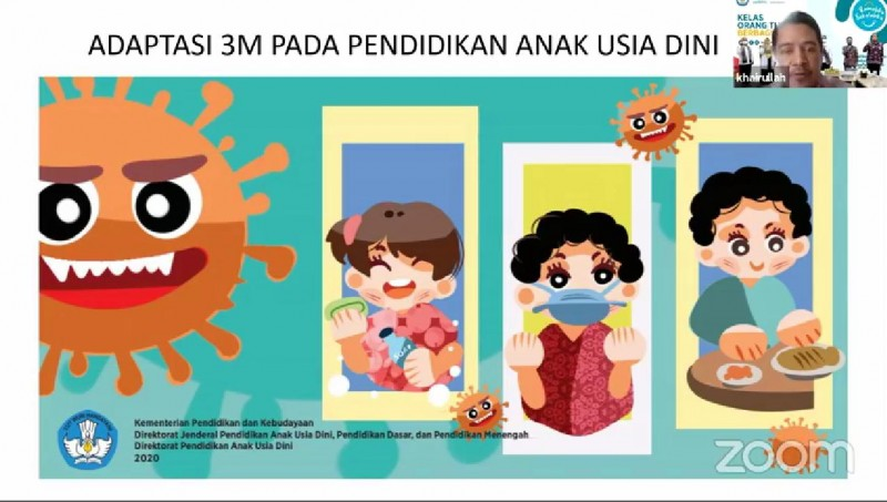 Ajarkan 3M, Anak Butuh Contoh Nyata