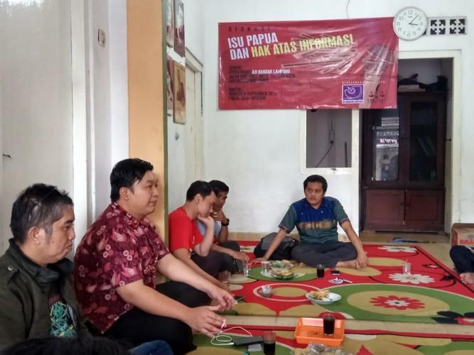 AJI Bandar Lampung Bahas Pembatasan Informasi di Papua