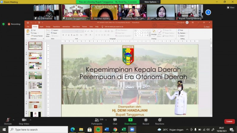 Akademisi Nilai Keterlibatan Perempuan di Panggung Politik Minim