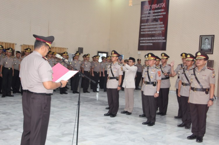 AKBP Bambang Resmi Jabat Kapolres Lampura