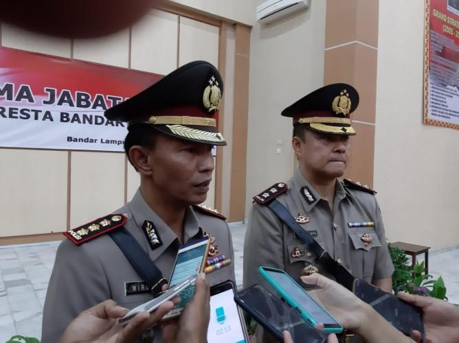 AKBP Yan Budi Jaya Resmi Jabat Kapolresta Bandar Lampung