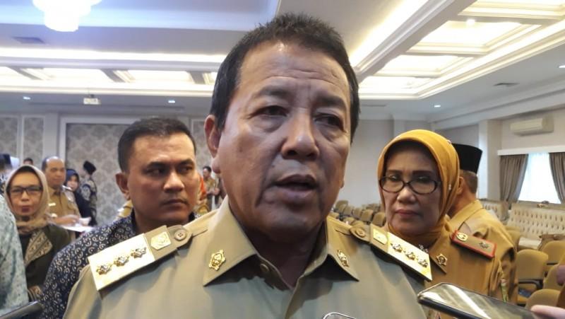 Bandara Radin Inten II Sambut Penerbangan Perdana Lampung-Jeddah