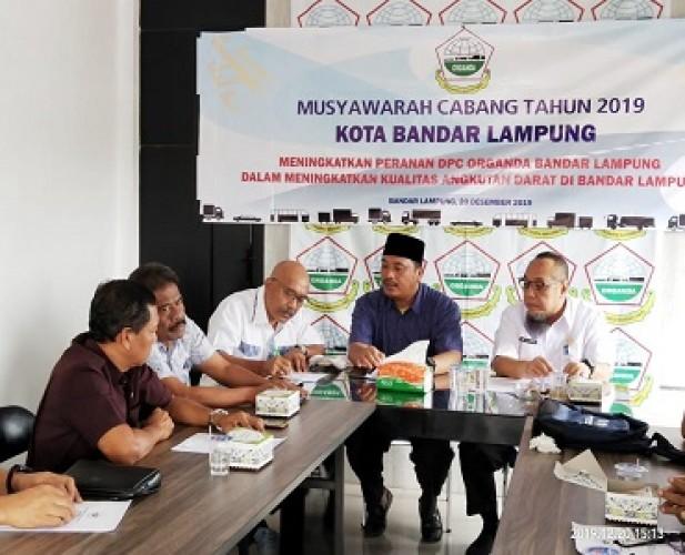 Aklamasi, TEC Kembali Pimpin Organda Bandar Lampung