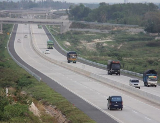 Akses Masuk Tol Kayuagung-Palembang Diperketat