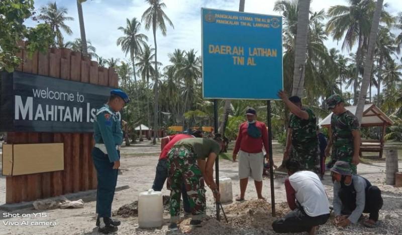 Akses Wisata Pulau Maitem Ditutup untuk Latihan Tempur