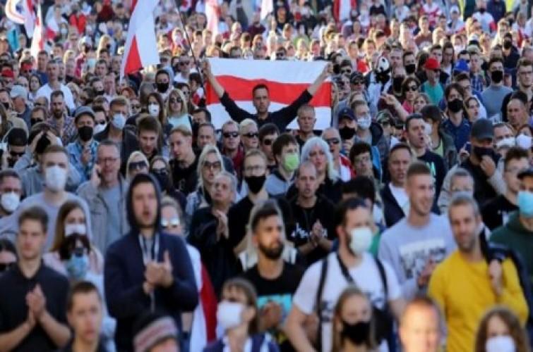 Aksi Balasan, Demonstran Bocorkan Data Pribadi Polisi Belarusia