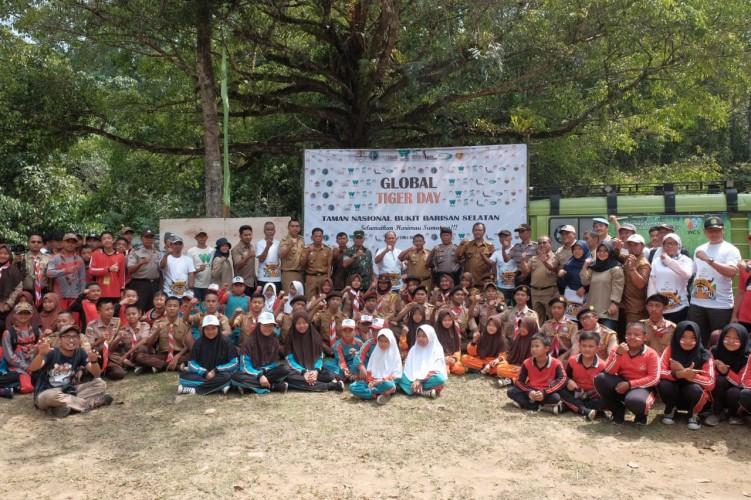 Aksi Global Tiger Day 2019 Kampanyekan Perlindungan Satwa Liar