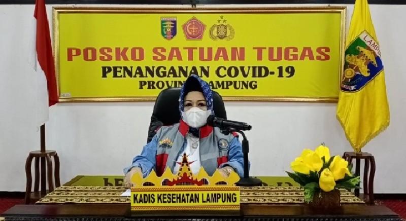 Alat Bantu Pernapasan Pasien Covid-19 di Lampung Tersisa 23